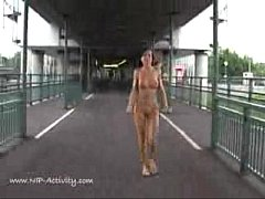 Tanja M public nudity