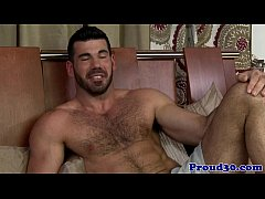 Gay hairy mature interviewed and fucked