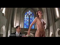 Charlize Theron - The Devil's Advocate (church)