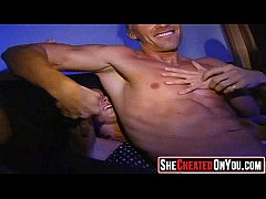 02 hot milfs at cfnm party caught cheating