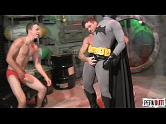 Batman vs The GoGo Boys SUPERHERO DOMINATION