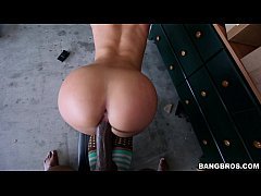 Jada Stevens Takes Big Black Pipe like a Pro