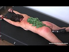 Spanking with nettle