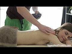 Young Anal Tryouts - The masseuse wanted Tatjana
