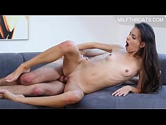 Sexy daughter anal crying