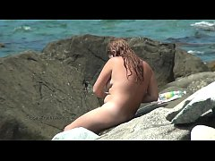 Real nudists on the nature video compilation