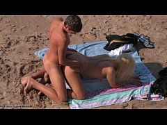 Nudists enjoy doggy style sex