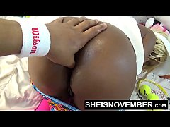 Young Ebony Nasty Big  Butt Asshole Fingering And Pussy
