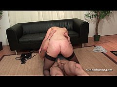Pretty brunette slut analized and double penetrated for her casting couch