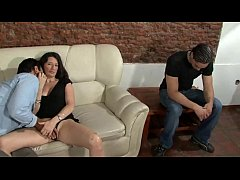 The wife enjoys and her cuckold husband#2