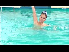 Naked Synchronized Swimming - Who's that girl