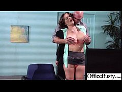 Bigtits Girl (krissy lynn) Get Hard Style Nailed In Office vid-23