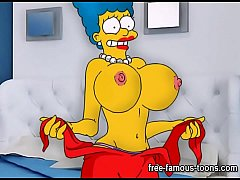 Simpsons hentai parody sex