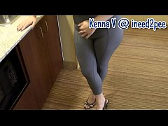kenna peeing her pants bedwetting pissing her jeans 2015