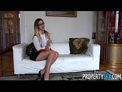 propertysex - sexy hungarian real estate agents has sex with british client