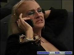 Blonde Mature Kathy Jones Enjoys Sucking and Fucking