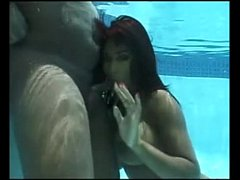 Africa Sexxx Underwater Blowjob