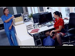 BUMS BUERO - Raunchy secretary banged by boss in the office