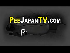 Japanese teen pees in cup