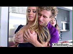 Sex In Office With Big Round Tits Girl (Nicole Aniston) video-23
