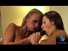 Foxy Dora Venter and one hot brunette is in a lesbian lust mode