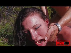 Metis asian babe fucking outdoors