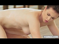 Casey Calvert does nuru massage on her second cousin