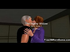 Sexy mature 3D cartoon honey getting fuck ...