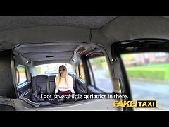Fake Taxi Escort needs cock after close call