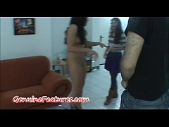 Backstage fingering and handjob with real czech amateur