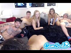 layna landry invites her friends to camsoda for an orgy