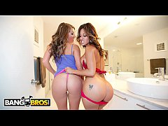 BANGBROS - Gia Malone And A Young Spicy J On Ass Parade!
