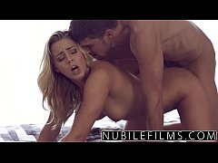 NubileFilms - Trembeling Orgasm On Her Step Brothers Cock