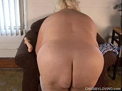 Sexy big tits blonde BBW