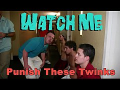 GAYWIRE - Aggressive College Frat Boys Haze The Young And Eager Pledges