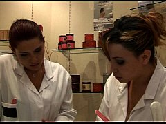 Interracial - Two French bitches, Talia and Kléa,  works in a massage parlor