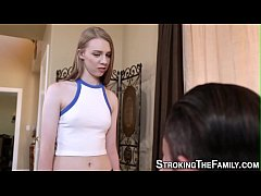 Teen stepsister nailed