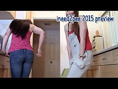 ineed2pee girls peeing their pants and tight jeans 2015