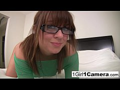 Alice Bell plays with her camera