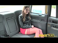 Fake Taxi Drivers big dick fucks latina tight wet pussy in taxi