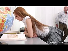 TeenMegaWorld.net - Veronika Fare - Adorable Student Fucks Her Horny Teacher