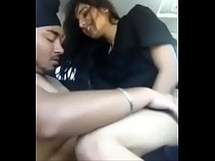 desi uk punjabi girl enjoying riding a dick in car with sardarji