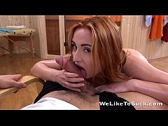 Sucking Cock - Eva Berger goes Ass to Mouth with a fat Cock