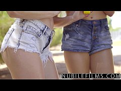 NubileFilms - Playful Coeds Have Intense Lesbian Threesome