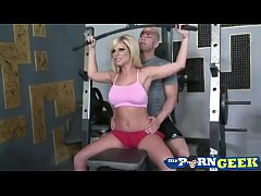 Working out with Sexy Ahryan Astyn