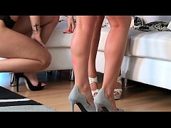High Heels, Bare Asses, Pearl Tangas Lingerie Show with Dee, Vicky & Lucia