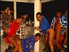 Fernando Nielsen Collection - A Vacation Turns Into A Gay Orgy