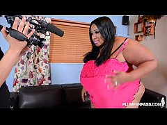 HugeTit Black BBW Cotton Candi Fucks Her Ex's Friend