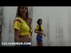 Sexy Latina Soccer players
