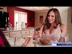 Sexy Hot Wife (Ariella Ferrera) With Big Juggs Love Intercorse clip-05